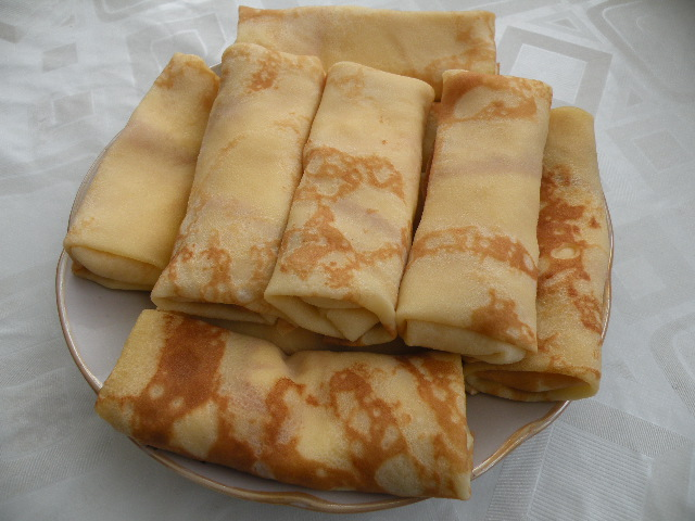 Panqueques con queso