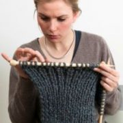 Conventional signs used in knitting