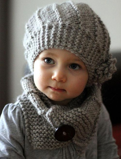Knitted Hat And Scarf Senpolia Handmade