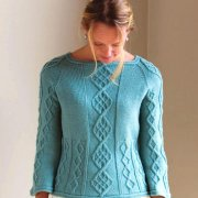 Pullover mit Ornamenten winter