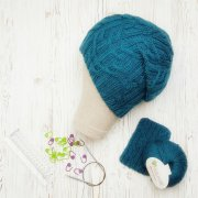 Beanie Hat turquoise