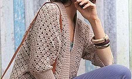 Jacket crochet summer