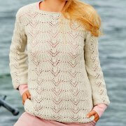 Hemstitch Sweater